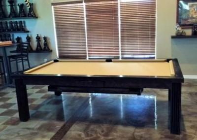 Ellegant Dining Room Pool Table 10