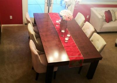 Ellegant Dining Room Pool Table