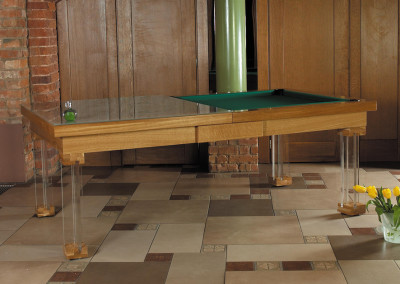 Huffington Dining Room Pool Table