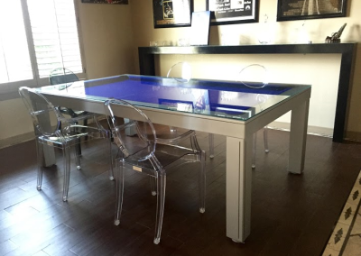 Napoli Dining Room Pool Table 4