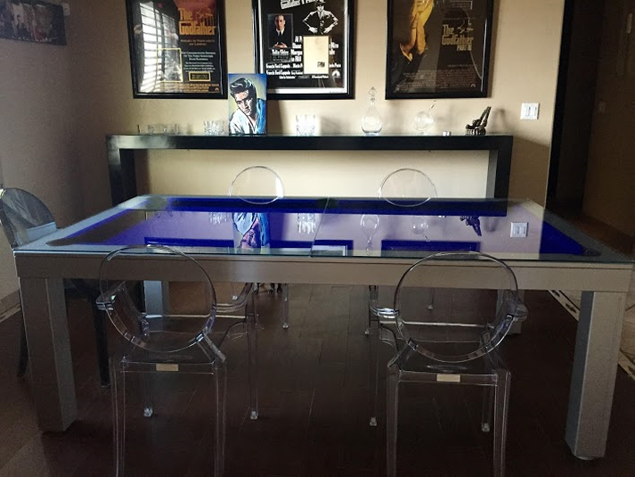 Napoli Dining Room Pool Table 5