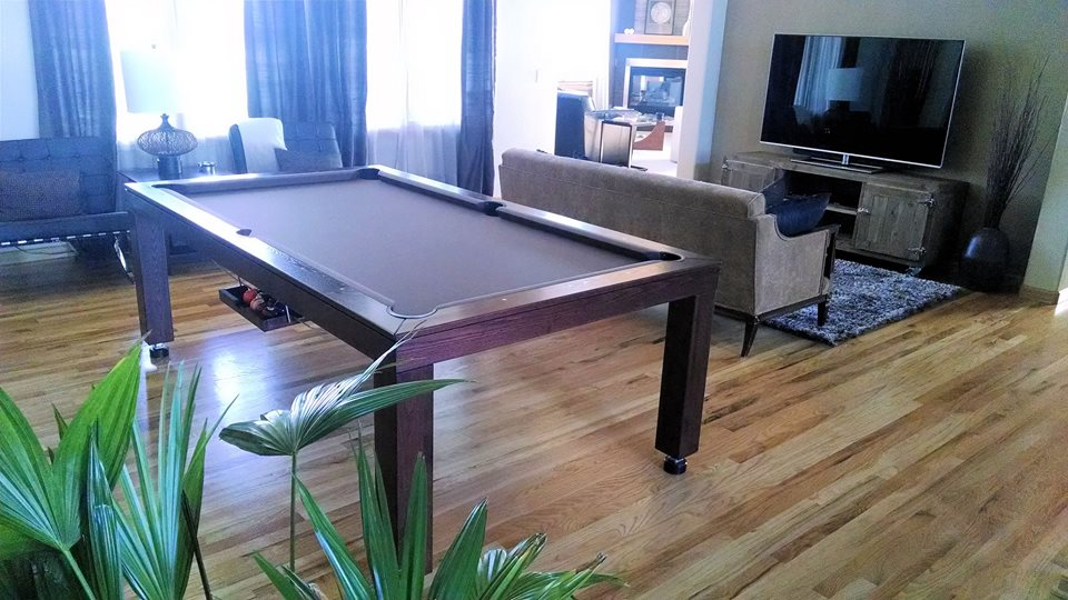 New Yorker Dining Room Convertible Pool Table 6