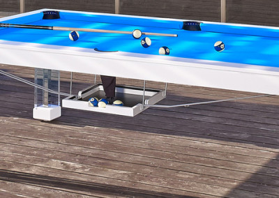 Ocean Dining Room Pool Table 1