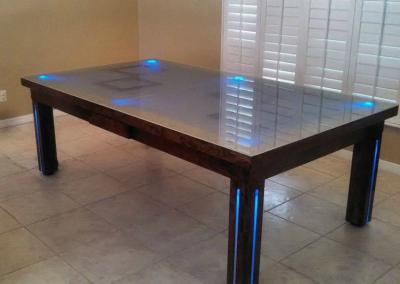 Safari Dining Room Pool Table 2