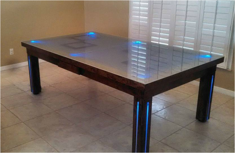 Safari billiards table Pool dining table