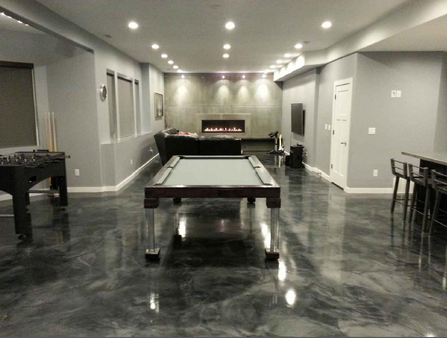 Steel Dining Room Pool Table
