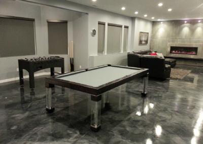 Steel Dining Room Pool Table 3