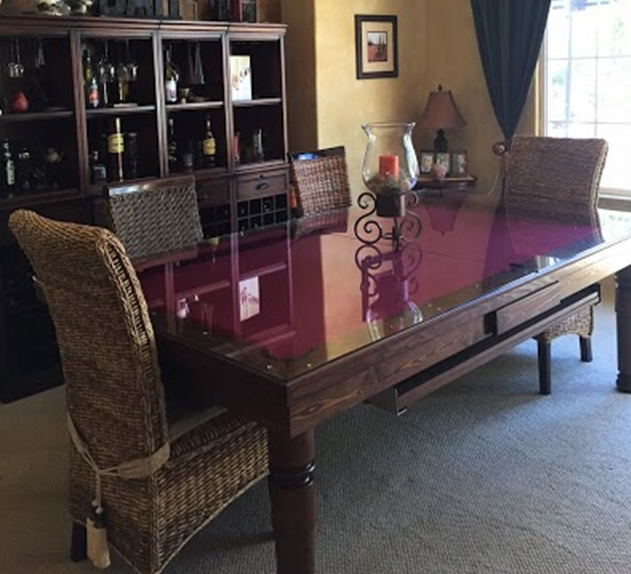 Dining Room Pool Table 2