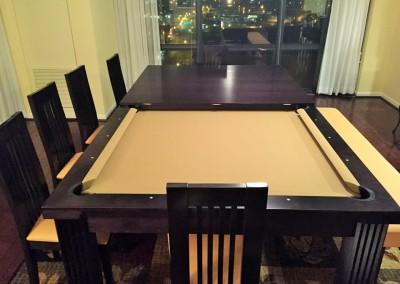 Ellegant Dining Room Pool Table 15