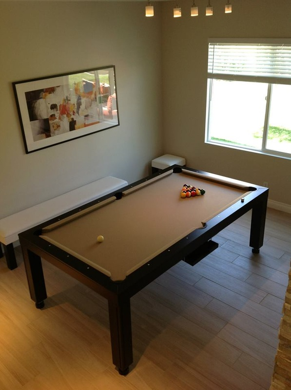 Hollywood Dining Room Pool Table 2