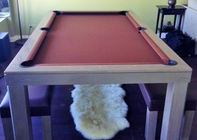 Hollywood Dining Room Pool Table 5