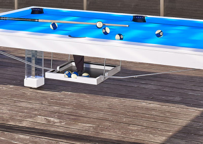 OCEAN Pool Table