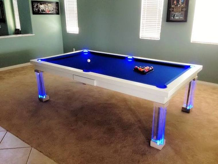 Oasis Dining Room Pool Table