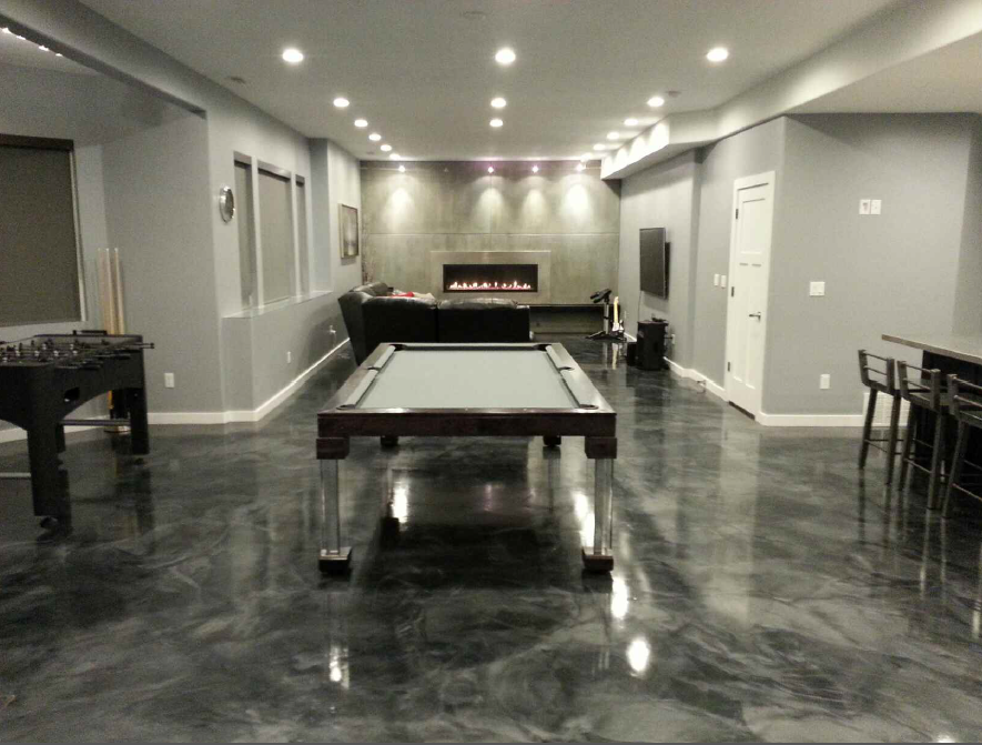 Steel Dining Room Pool Table
