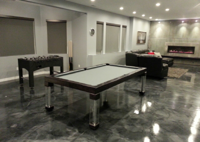 Steel Dining Room Pool Table 3